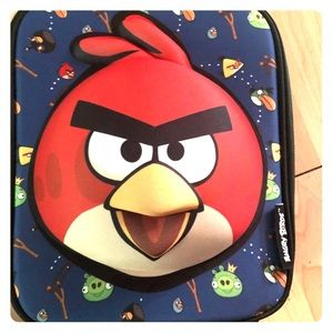 NWT 3D Angry Birds lunch box and back pack